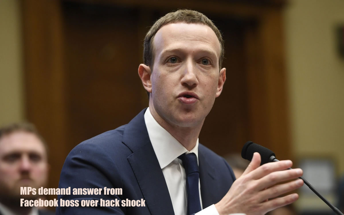 MPs demand answer from Facebook boss over hack shock