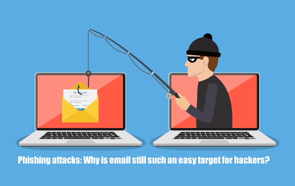 Phishing attacks: Why is email still such an easy target for hackers?