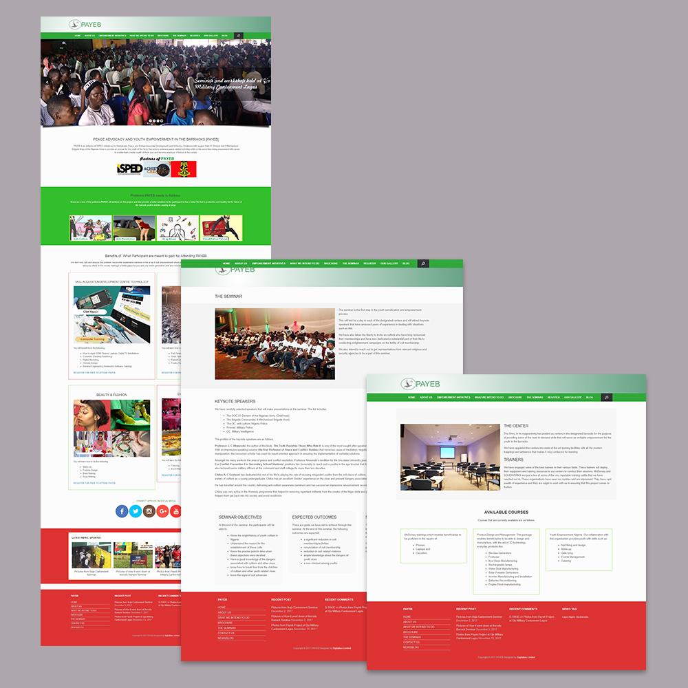 Website Design for PAYEB